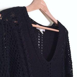 ••3/$15•• Band of gypsies /v-neck black sweater